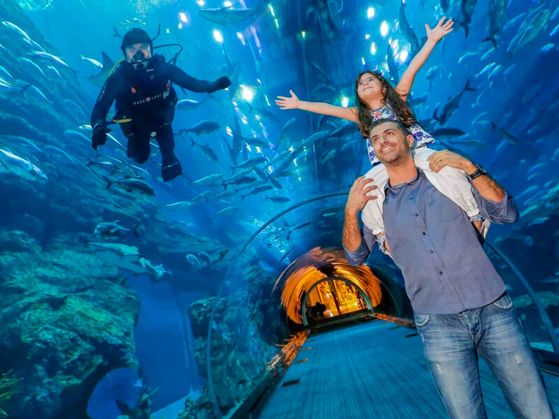 Burj Khalifa And Aquarium Tickets